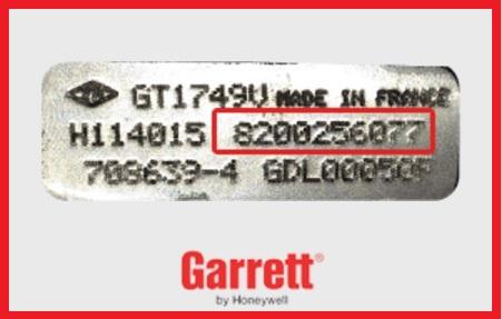 OEM Turbo Garrett