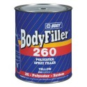 Mastic polyester pour zones rugueuses Hb Body BODYFILLER 260 Polyester Spray filler