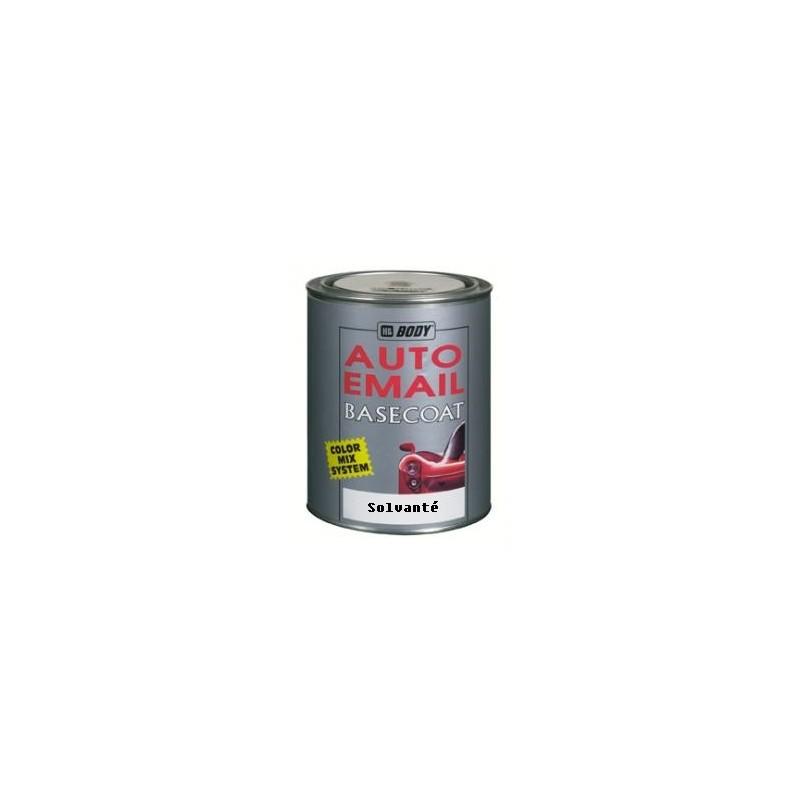 Basecoat peinture l 39 eau pour couche de base m tallique solvant for Peinture pour email