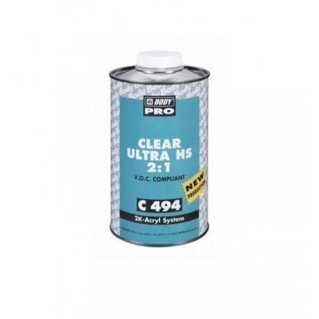 Vernis 2k brillant HB BODY PRO C494 Clear UHS (1L)
