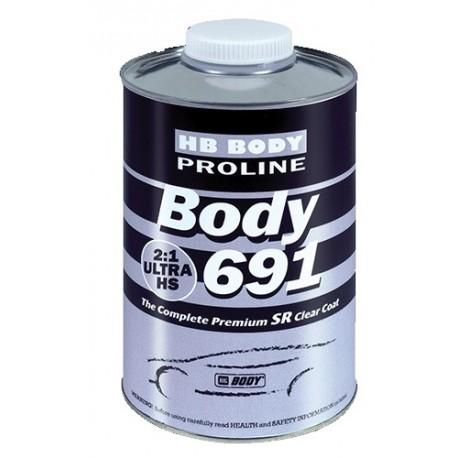 Vernis anti-rayures HB BODY Proline 691 SR (2:1UHS)