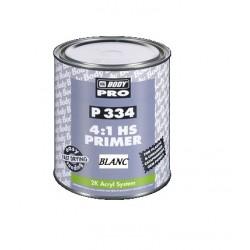Apprêt de remplissage HB BODY P334 blanc pour peinture acrylique 2k