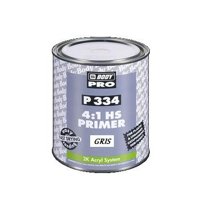 Apprêt de remplissage HB BODY P334 gris pour peinture acrylique 2k