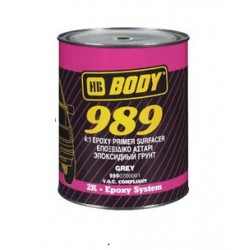 Apprêt époxy Hb Body 989 4:1 Epoxy Primer Surfacer