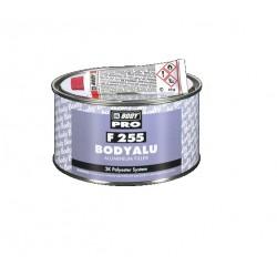 Mastic Polyester alu 2k Hb Body BODYALU F255 Aluminium Filler + durcisseur