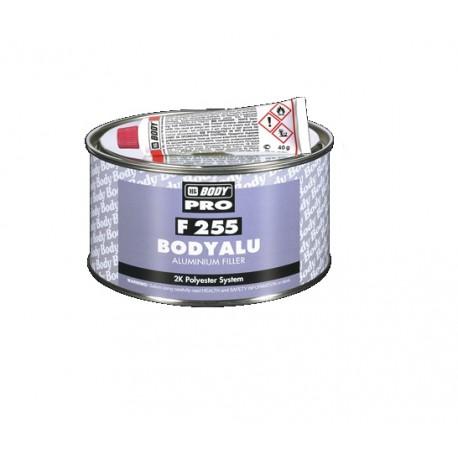 Mastic polyester alu 2k Hb Body BodyAlu 255 Aluminium Filler + durcisseur