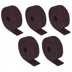 Rouleaux abrasifs non tissés marrons