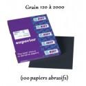 Papiers abrasifs du grain 120 à 2000 pour un ponçage à l'eau Hb Body Waterproof Sanding Sheets