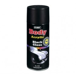 Aérosol peinture noir HB Body Acrylic Black Gloss (brillant)