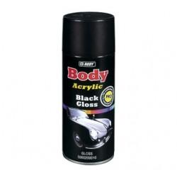 Aérosol de peinture acrylique noir HB Body Acrylic Black Gloss (brillant)