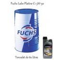 Fuchs lubrifiant Labo Platine C1 5W-30 pour professionnels (tonnelet de 60 Litres)