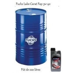 Fuchs lubrifiant Labo Carat FAP 5W-40 pour professionnels (fût de 200 Litres)