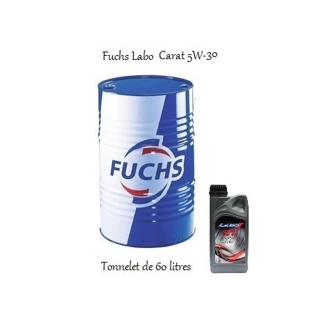 Lubrifiant ACEA A3 B3 B4 pour professionnels Fuchs Labo Carat 5W-30 (60 L)