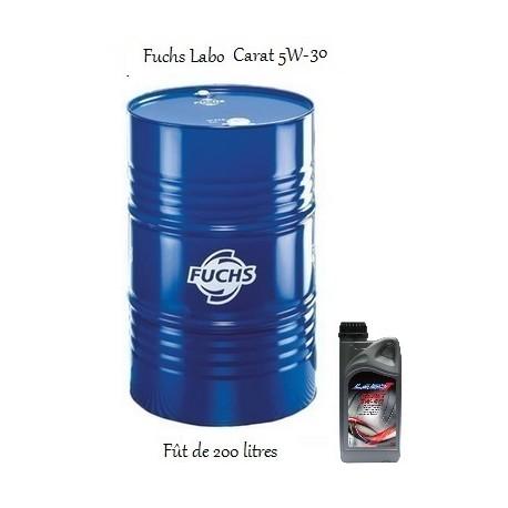 huile moteur essence diesel pour pros labo carat sae 5w 30 200l. Black Bedroom Furniture Sets. Home Design Ideas