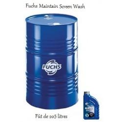 Liquide lave-glace pour professionnels Fuchs Maintain Screen wash (fût de 205L)