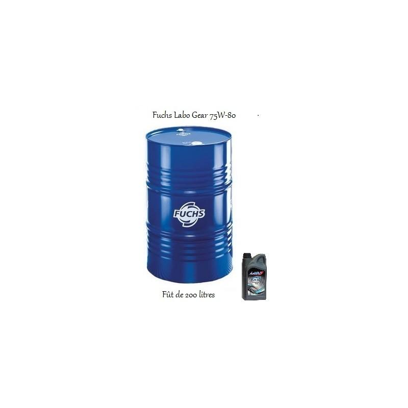 lubrifiant pour professionnels fuchs labo gear 75w 80. Black Bedroom Furniture Sets. Home Design Ideas