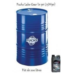 Lubrifiant 75W90 pour professionnels Fuchs Labo Gear Ls 90 (200L)