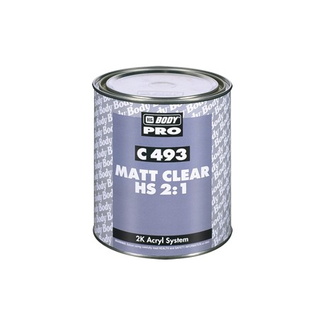 HB BODY C493 MATT CLEAR HS 2-1