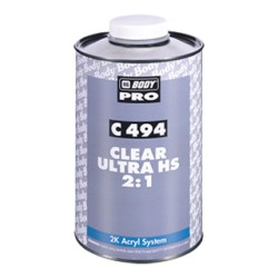 Vernis HB BODY Pro C 494 Clear Ultra HS 2:1 (5L)
