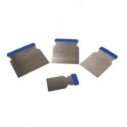 Set de 4 couteaux à mastic en métal finixa (pour le masticage des surfaces)