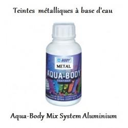Teinte métallique à base d'eau Hb Body Aqua-Body Aluminium (metallic)
