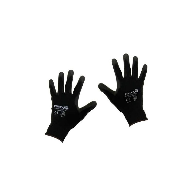 gants avec revêtement en nylon pour le montage de surfaces en pu