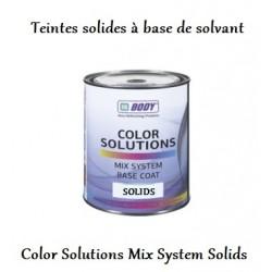 Système de mélange pour peinture solvantée 1k