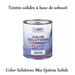 Teinte solide à base de solvant Hb Body Color Solutions Base coat Mix System Solids
