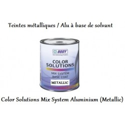 Teinte métallique à base de solvant Hb Body Color Solutions Base coat Mix System Aluminium (Metallic)