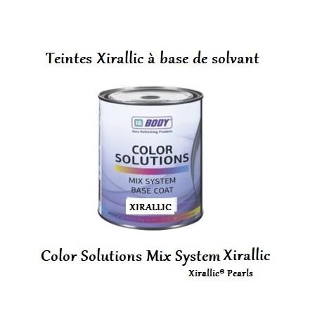 teintes Xirallic solvantées Hb Body Color Solutions Xirallic
