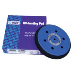 Plateau de ponçage premium 15 trous - 150 mm HB BODY sanding pads (pour disques abrasifs velcros6 et 9 trous)