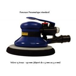 Plateau universel de ponçage (15 trous pour disques abrasifs velcro 6-9 trous)