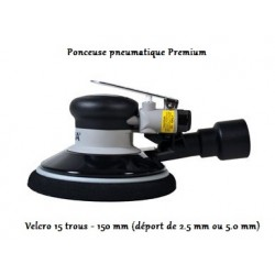 Machine à poncer premium Velcro 15 trous - 150 mm Finixa premium ponceuse pneumatique