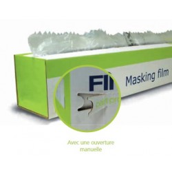 Rouleau de film plastique de masquage absorbant Finixa Masking film (4 m)