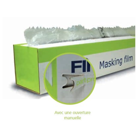film en plastique de masquage absorbant finixa masking film. Black Bedroom Furniture Sets. Home Design Ideas