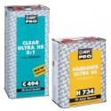 Pack Promotion : Vernis Pro 2K peinture acrylique Hb Body C494 UHS (5L) + durcisseur au choix (2.5L)