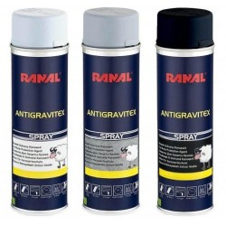 Aérosol de protection anti-gravillon et anti-corrosion Ranal Spray Antigravitex Car body Protection Agent