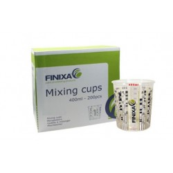 godets à mélanger Finixa printed mixing cups (400 ml - 200 pieces)
