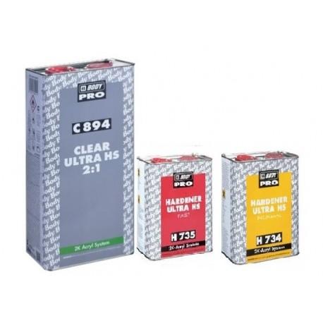 Pack Promotion : un vernis pro 2k Hb Body 494 et un durcisseur normal Hb Body 734