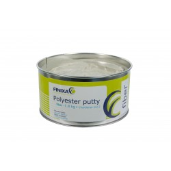 Mastic polyester fibre Finixa polyester Putty Fiber + durcisseur (Finixa GAP 40)