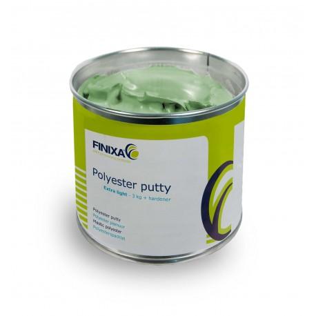 Mastic polyester ultra-léger 2K Finixa Polyester Extra Light (Finixa GAP 33)