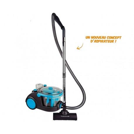 Aspirateur par filtration d'eau (aspire eau et poussières)