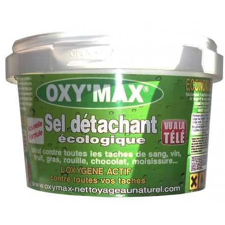 Sel détachant écologique à base d'oxygène actif