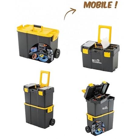 Caisse à outils modulable et transportable Euro Vanadium