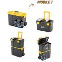 Caisse à outils sur roues modulable et transportable Euro Vanadium