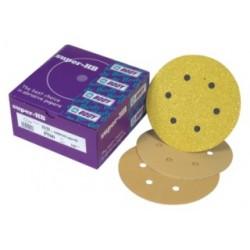 Disques Abrasifs Velcro à 15 trous Super-HB (P120 / P240 / P320 / P400 / P500)