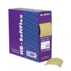 Abrasif sur mousse en rouleau Body Softflex (200 éponges)