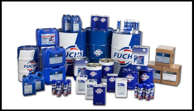 Lubricants, engine oil, windscreen washer etc. by Fuchs France